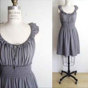 Anthro Floreat Bungalow Gables Silk Dress
